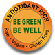 Antioxidant Rich - Raw • Vegan • Gluten Free - Be Green, Be Well